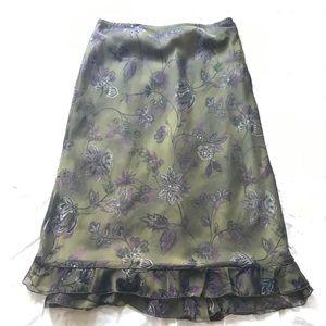 Beautiful chiffon skirt